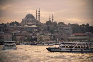 süleymaniye moské, istanbul foto