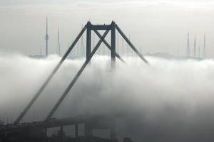 bosphorus bridge, istanbul foto