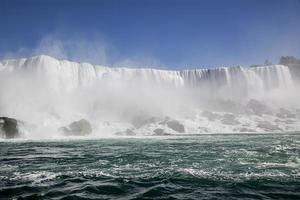 vatten vägg. foto