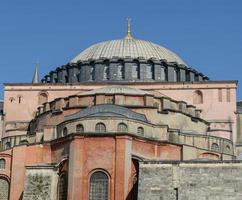 hagia sophia i istanbul kalkon foto