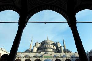 blå moskén istanbul