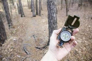 kompass foto