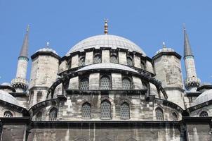 yeni cami-moskén i istanbul foto
