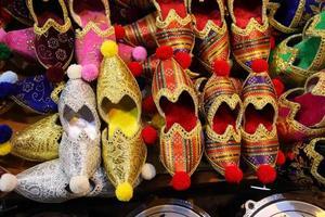 handgjorda turkiska skor foto
