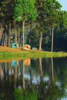 populär sjö i mae hong son foto