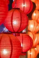 kinesiska lyktor foto