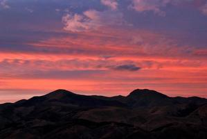 mirage solnedgång foto