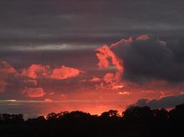 solnedgång 011 foto