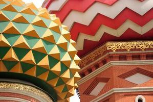 St basilkatedralen, Moskva foto