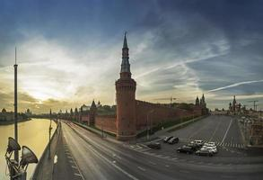 Moskva kreml och kreml vägg 2014