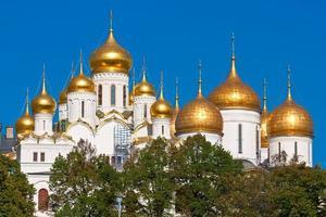 Moskva kremlinkatedraler foto