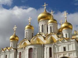 katedralen i asunción, kremlin inuti, Moskva foto