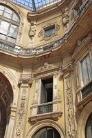 galleria vittorio emanuele ii, shopping arcade, milan, italy