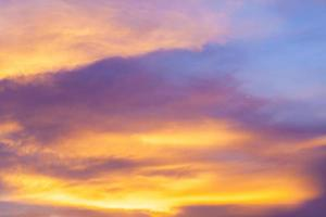 solnedgång himmel bakgrund. foto