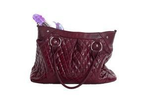 kvinnlig handväska foto