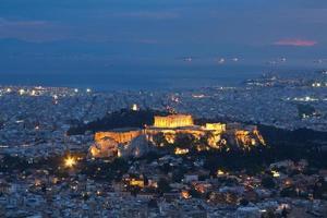 Akropolis, Aten, Grekland. foto