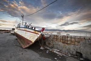mikrolimano marina i athens. foto