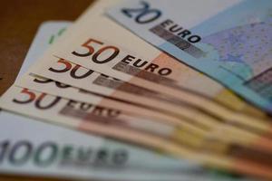 pengar - euro foto
