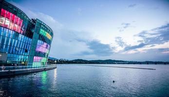 stadsbild av Asien stad - Sydkorea seoul foto