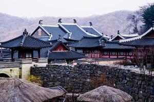 koreansk stil slott foto