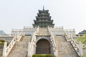nationella folkmuseet i Korea foto