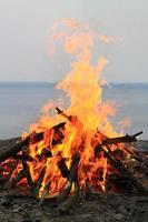 bon fire foto