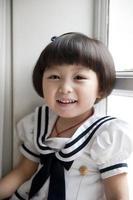 söt liten flicka foto