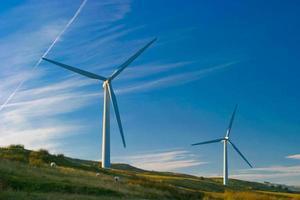 vindkraftverk i Cumbria foto