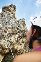 klättrande foto