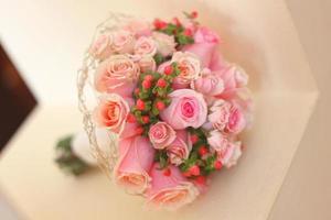 bröllop blommor foto