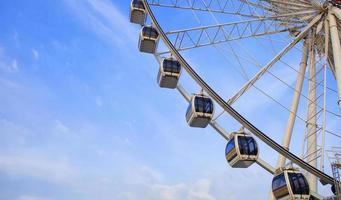 del av pariserhjulet foto