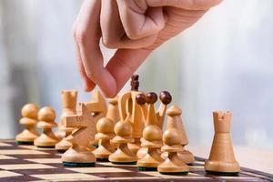 spel i schack foto