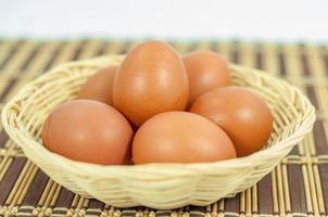 närbild ägg