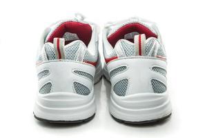 närbild sneakers foto