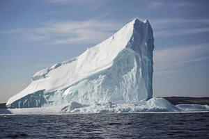 isberg på nära håll