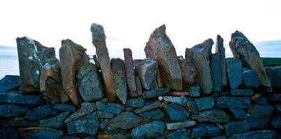 stenar på nära håll foto