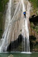 canyoning i fench alperna
