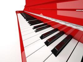 piano närbild foto