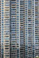 shanghai lägenheter närbild foto
