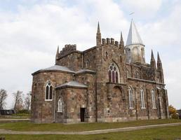 Katolsk kyrka . närbild foto