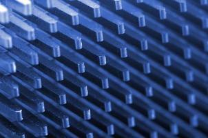 CPU-kylare på nära håll foto