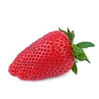 jordgubbe i närbild foto
