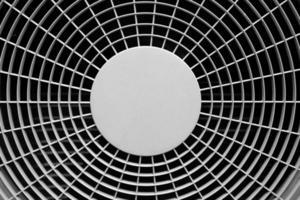 närbild luftkompressor foto