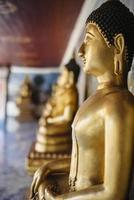 buddha staty närbild.
