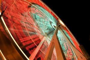 pariserhjul på nära håll foto
