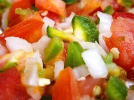 salsa på nära håll foto
