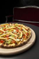 pizza vegetariana foto