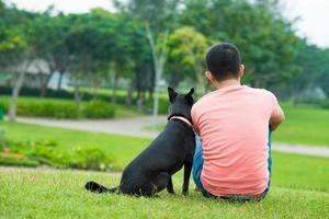 helgen i parken foto