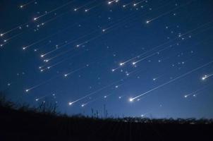 stjärndusch foto