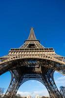 eiffeltorn, Paris, Frankrike. foto